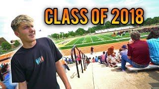 RETURNING TO MY HIGH SCHOOL FOR GRADUATION...