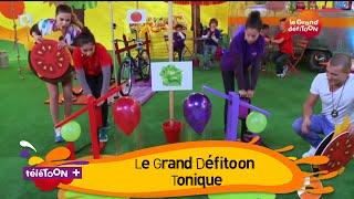 LE GRAND DEFITOON TONIQUE - Épreuve : Le Rapido Burger ! (Emission TéléTOON+)