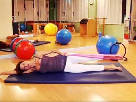 yo-dona:-pilates,-ejercicios-con-banda-elástica.