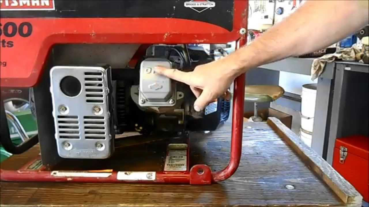 5600 Watt Generator Wont Start Youtube Diagram And Parts List For Craftsman Generatorparts Model