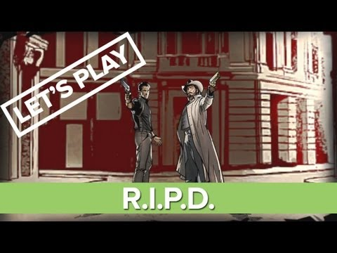 Let's Play R.I.P.D.: The Game - R.I.P.D. Gameplay XBLA