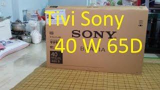Hướng dẫn bạn lắp đặt tivi smart sony 40w65d tốt trong tầm giá
