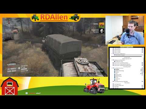 Time to Get Stuck in the Mud - MudRunner RDAllen Live 11 08 2017