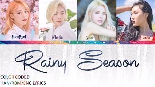Mamamoo – Rainy Season (장마) COLOR CODED HAN/ROM/ENG LYRICS