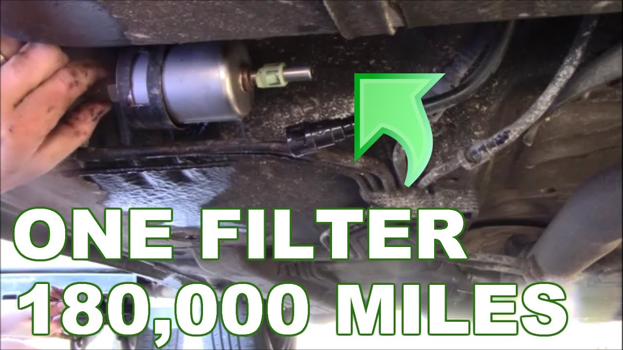 How To Replace A Fuel Filter Gm Youtube Vw Location