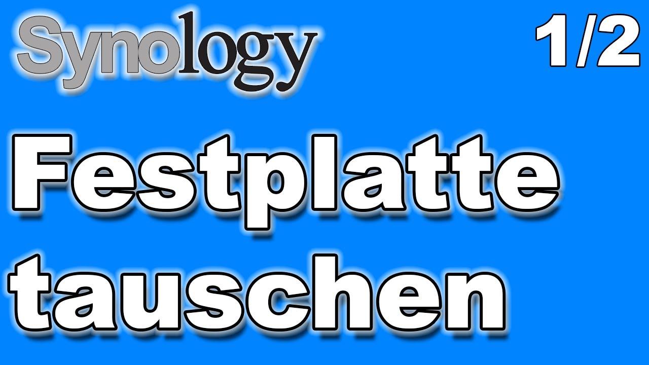 Synology Festplatte Verschlüsseln