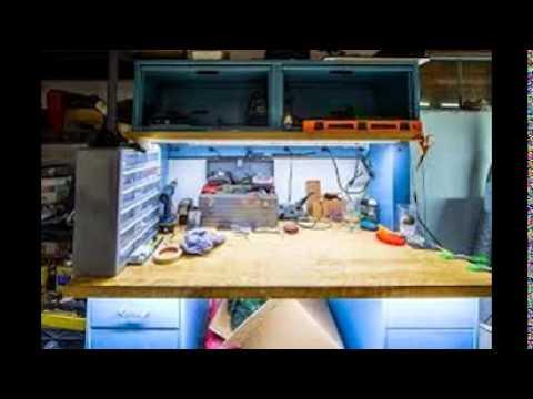 Workbench Lighting Ideas - YouTube
