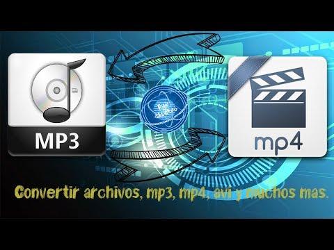 Convertir archivos a DVD, MP3, MP4, AVI, MKV y muchos formatos más l FACIL Y GRATIS l 2017