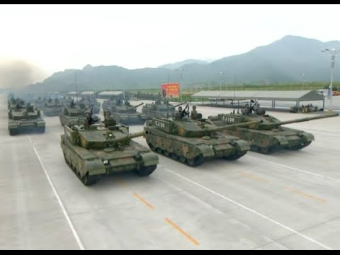 China's T-99 Main Battle Tanks to Be Main Attraction at V-day Parade