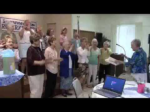 Choreography, Boogie Woogie Bugle Boy, Live Oak Woman's Club Chorus, 2019-04-05