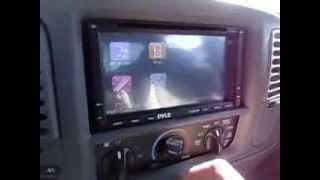 sistema multimedia pyle pldnv695 dvd mp4 mp3 cd player bluetooth gps usb sd aux in