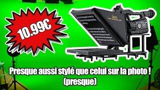 Fabriquer un Téléprompteur pour 10.99€