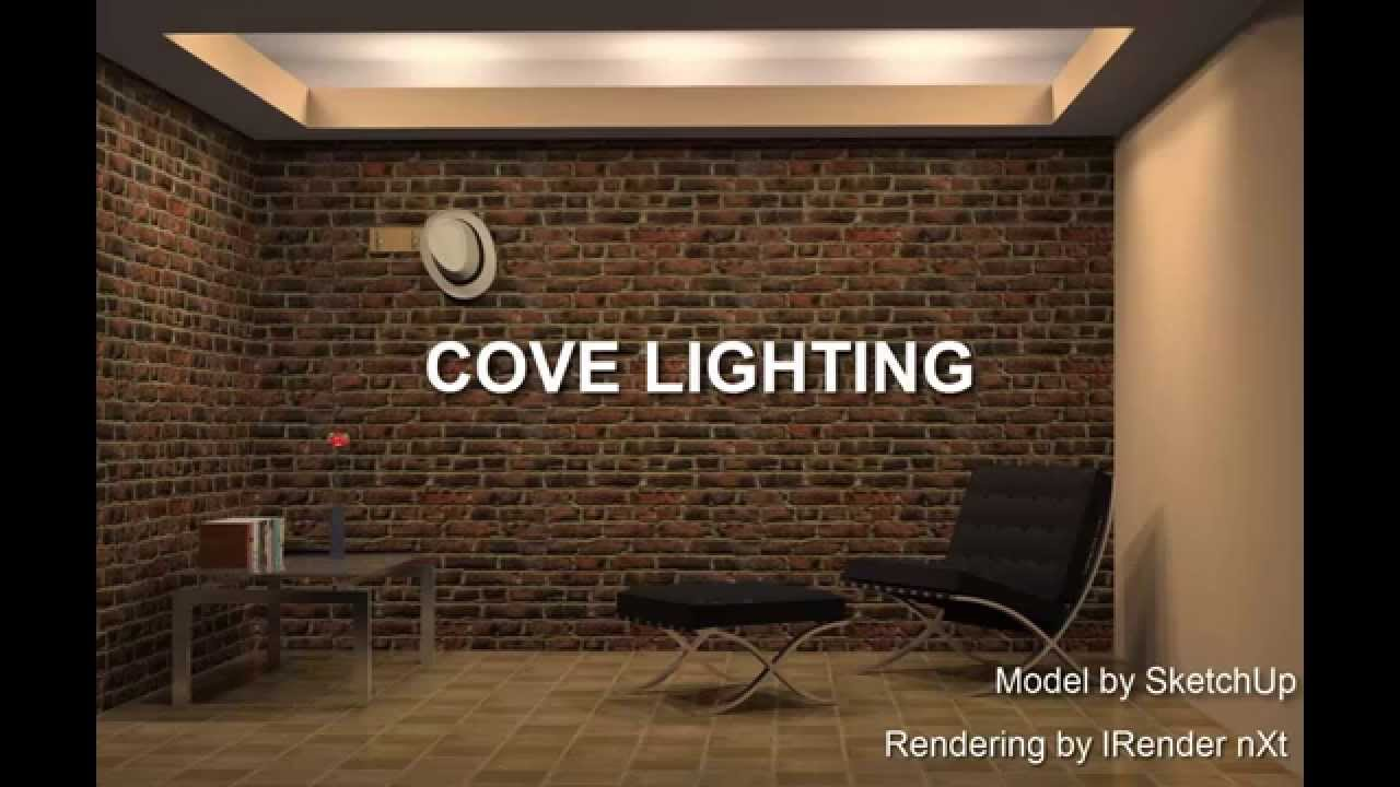 Cove Lighting Example Modeled With Sketchup Youtube