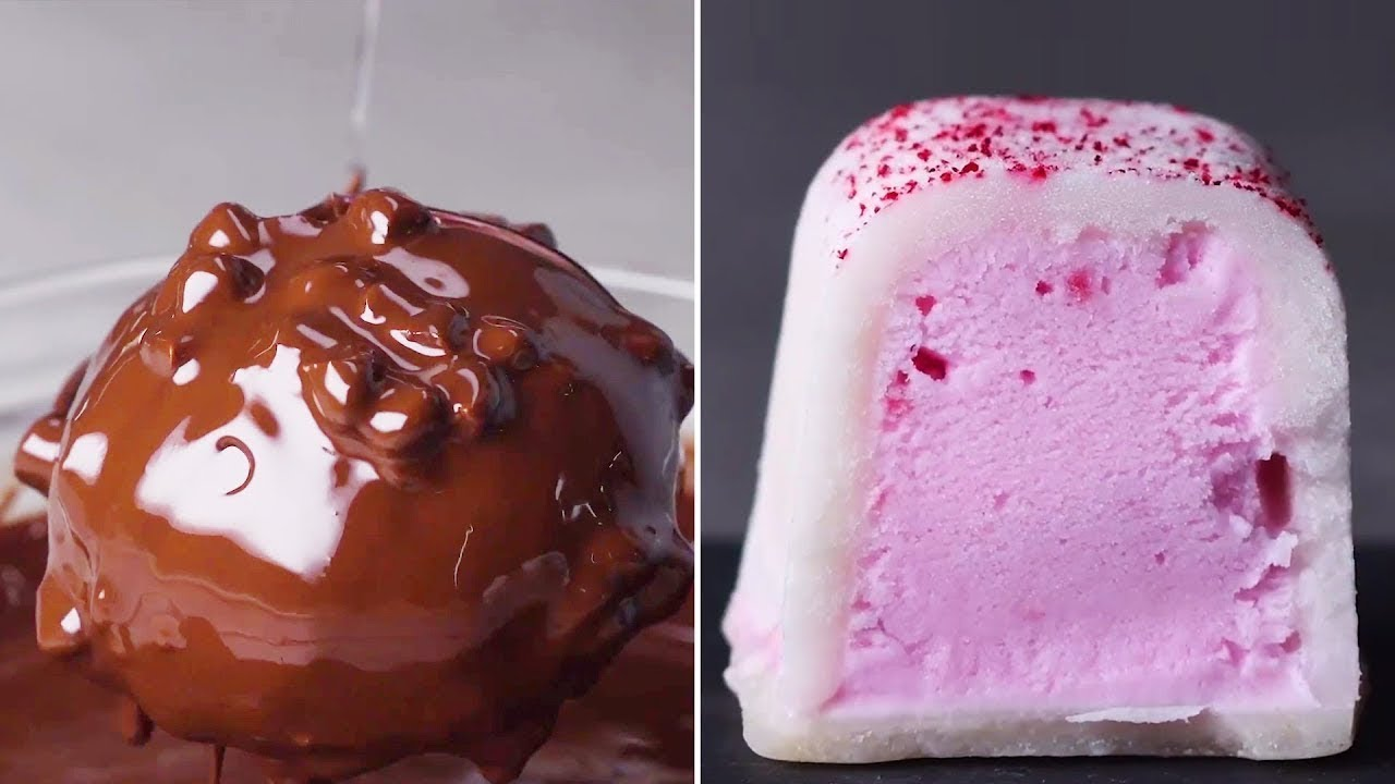 13 Desserts from Around the World! | Popular Desserts and Frozen Sweets by So Yummy
