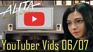 Alita Battle Angel YouTuber uploads June 7 2020
