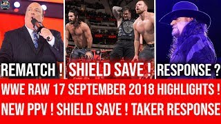 WWE Raw 17 September 2018 Highlights ! Crown Jewel Match Confirmed ! WWE Raw 9/17/18 Highlights