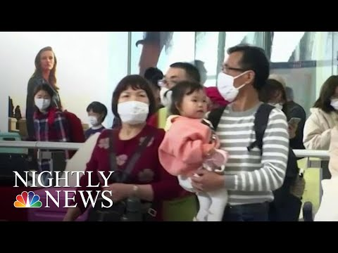 China Orders Lockdown Of Major City Over Fears Of Deadly Mystery Virus | NBC Nightly News