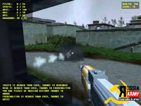 Russian Army FPS Game - YouTube