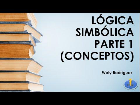 Symbolic Logic. Part 1 (Concepts)