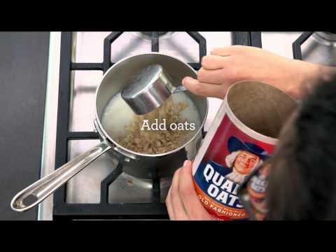 How To Make Stovetop Oatmeal   Quaker