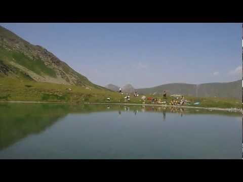 Swimming @ Tropoja Lake - 2215 meters above sea level ( Underwater Video )