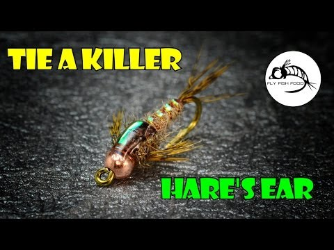 "Hare's Ear Stonefly by Clark ""Cheech"" Pierce"