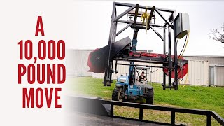 A 10,000 Pound Move | Moving Big and Heavy Equipment