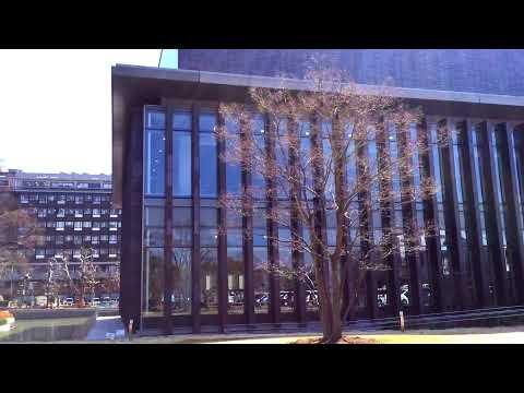 岡山県立図書館 外観 岡山県岡山市