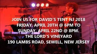 David's Tent New Jersey April 21 - 23, 2017