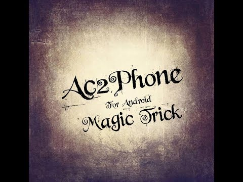 magic trick any card to phone