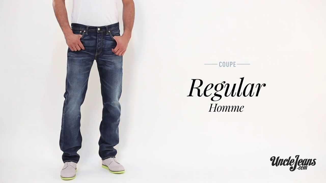 ba8df1d55c824 Jean Regular : Guide des coupes de jeans Homme - YouTube