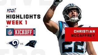 Christian McCaffrey's 209-Yd Game | NFL 2019 Highlights