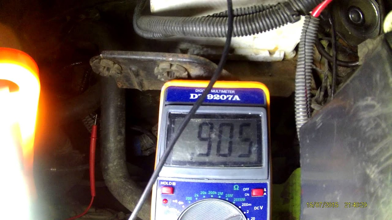 Проверка датчика кислорода ДК1 (он же лямбда зонд) на ЗМЗ 409 Евро 3