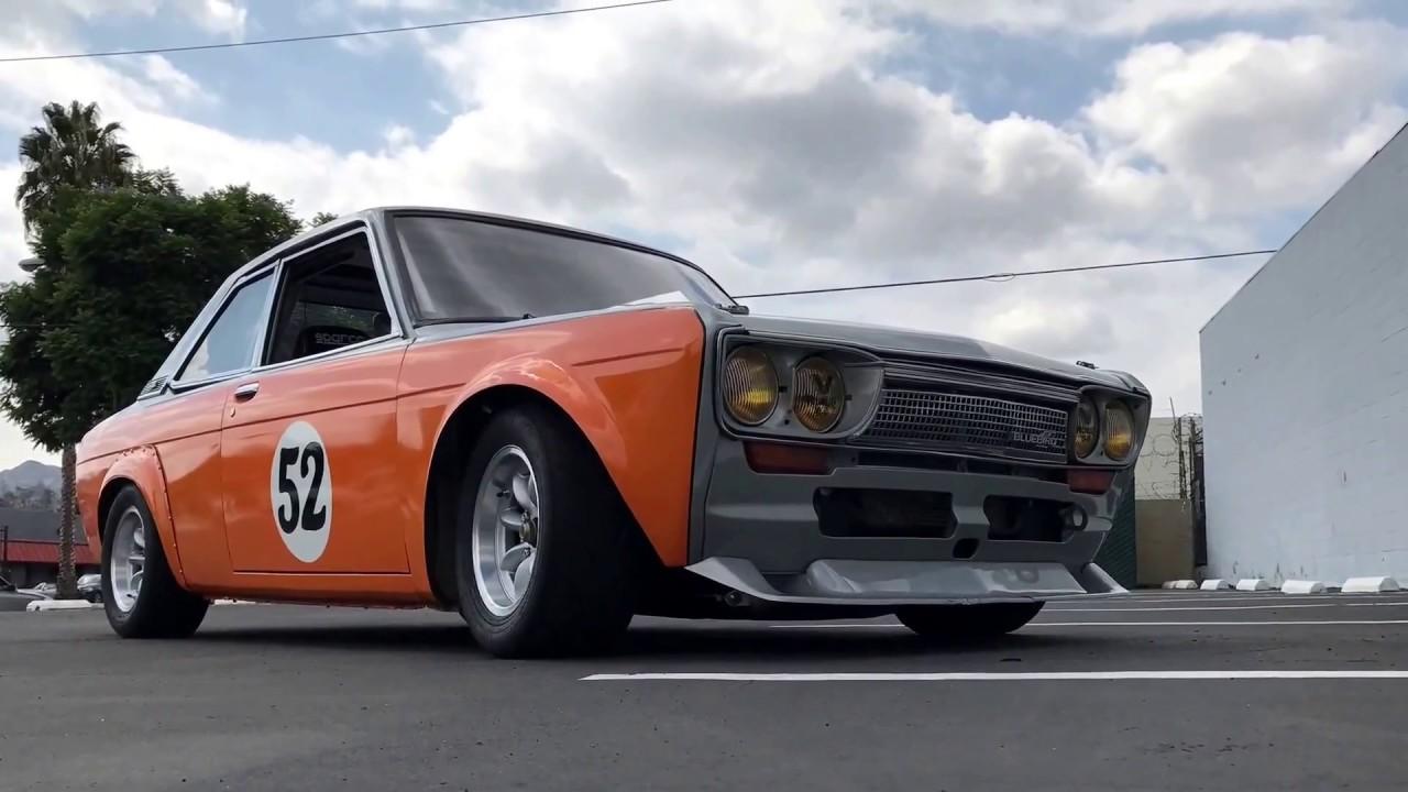 Datsun Bluebird Race Car For Sale - YouTube