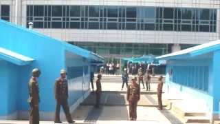 КНДР видео ДМЗ (DMZ, North Korea)