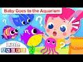 Baby Visits the Aquarium | Kids Songs & Nursery Rhymes by Little Angel