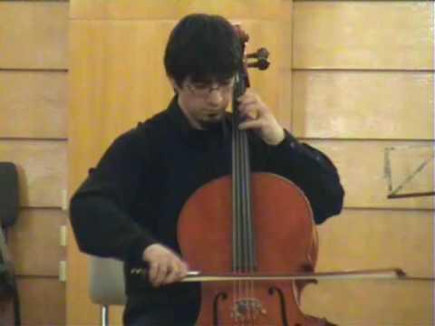Bach: Cello Suite 3 (Prelude & Sarabanda) - Davi Barreto