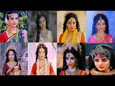 Best & Attractive looks of Pooja Sharma as Devi Parvati with names in Mahakali-Anth Hi Aarambh H