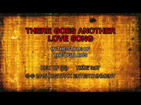 The Outlaws - There Goes Another Love Song (Backing Track)