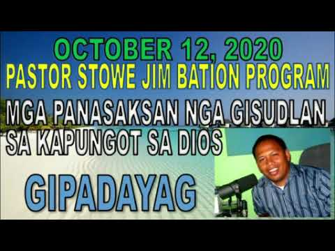 JULY 15, 2020 STOWE JIM BATION CEBUANO CHRISTIAN PROGRAM - KINABUHING DAYON from YouTube · Duration:  29 minutes 59 seconds