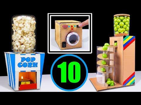 TOP 10 Incredible Cardboard Videos in The World