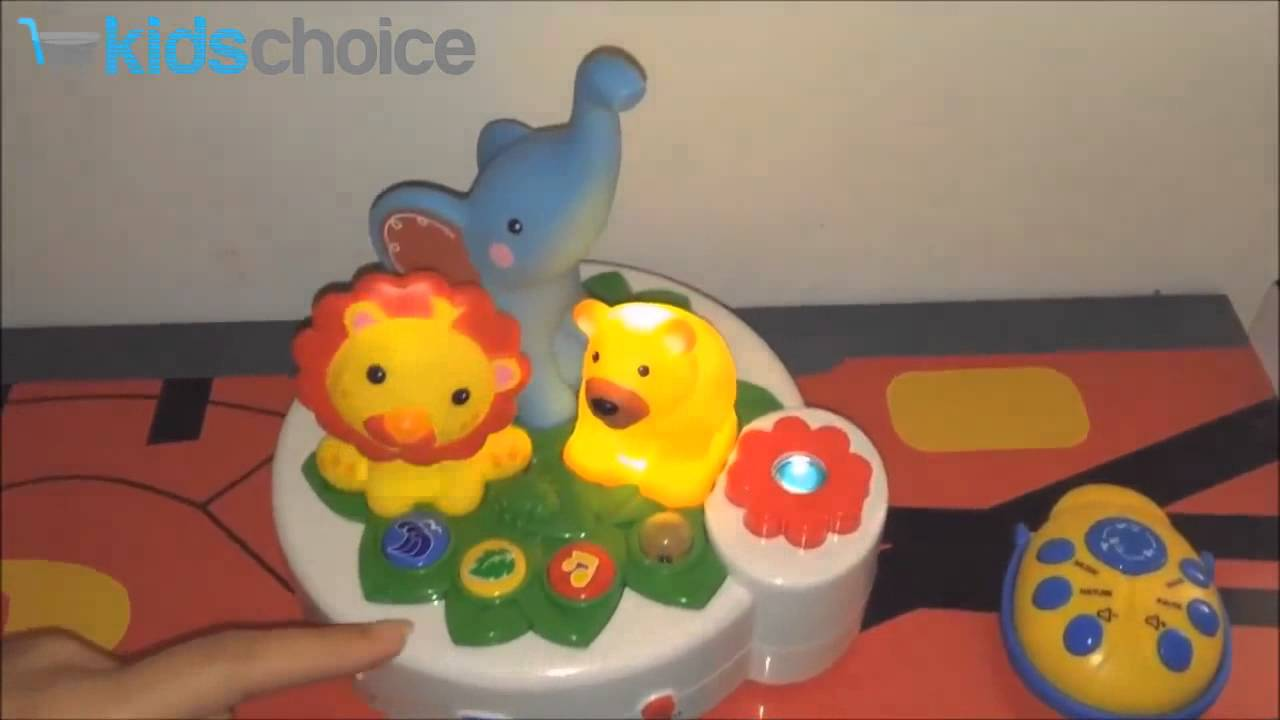 Kids Choice Baby Nursery Night Light 4 In 1 Projection Soother