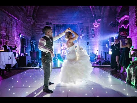 Big Brother Craig Phillips and Laura Sheriff Wedding at Peckforton Castle