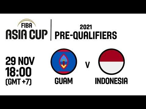 Guam v Indonesia - Full Game - FIBA Asia Cup 2021 Pre-Qualifiers  2019