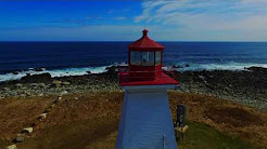 Drone Capture of Baccaro Point Lighthouse, Nova Scotia, Canada: #NSLighthouseProject