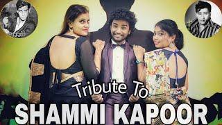 Tribute to SHAMMI KAPOOR Badan Pe Sitare O Haseena Julfo Wali Queen& 39 s Crew Govinda Choreography