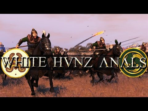 White Huns vs Ethnically Cleansed Anals - Total War Attila Battle