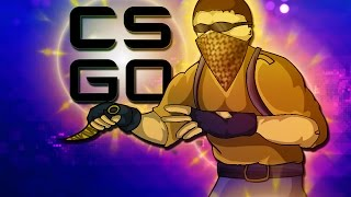 CSGO - SILVER FIGHT! (Counter Strike: Funny Moments!)