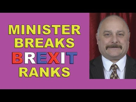 Defence Minister Breaks Brexit Ranks!