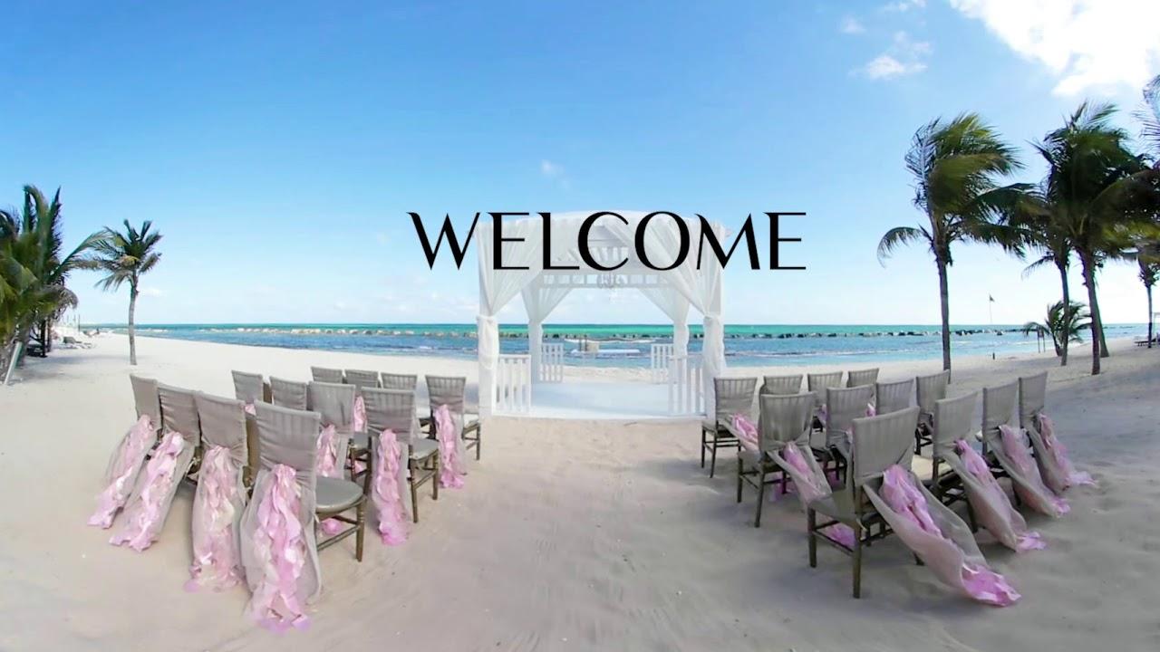 Wedding Gazebo at El Dorado Casitas Royale - YouTube